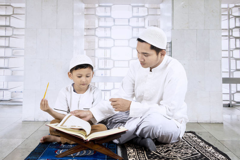 Prophet Muhammad was very patient with children