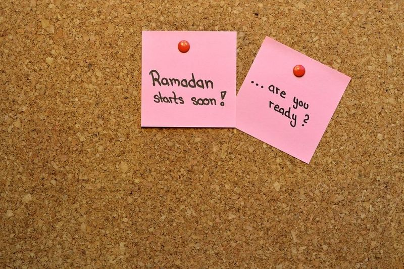 Ramadan checklist to get yourself ready