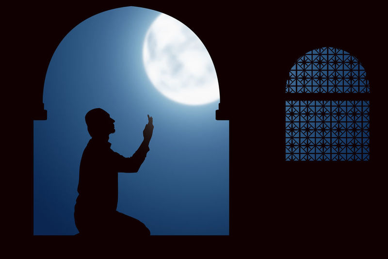Ramadan is the time of prayer, fasting and supplications