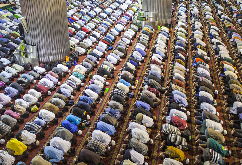 Terawih is a special prayer in Ramadan