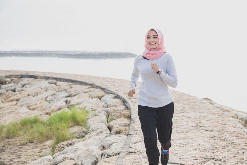 Remain active and run during fasting in Ramadan