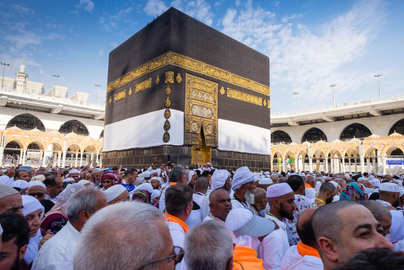 Historical places to visit in Makkah include Kaabah