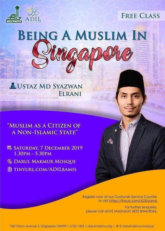 free Islam class in English for adults by Ustaz Syazwan Elrani