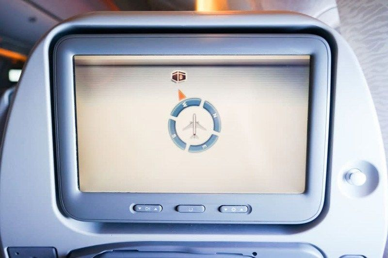 Face the qiblah on board an airplane