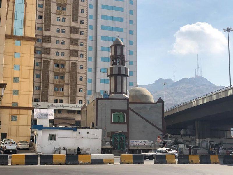 Asy-Syajarah Mosque in Makkah, Saudi Arabia