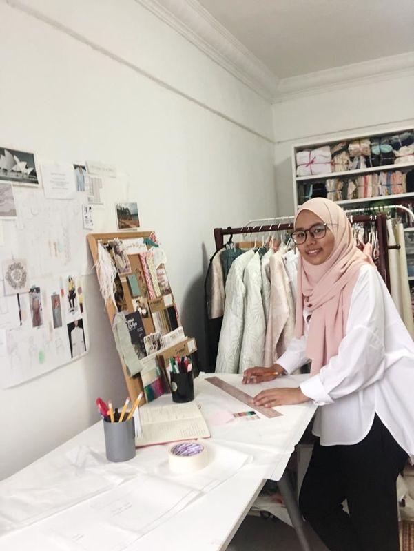 Hafizah Ghazali, a sustainable, conscious fashion designer