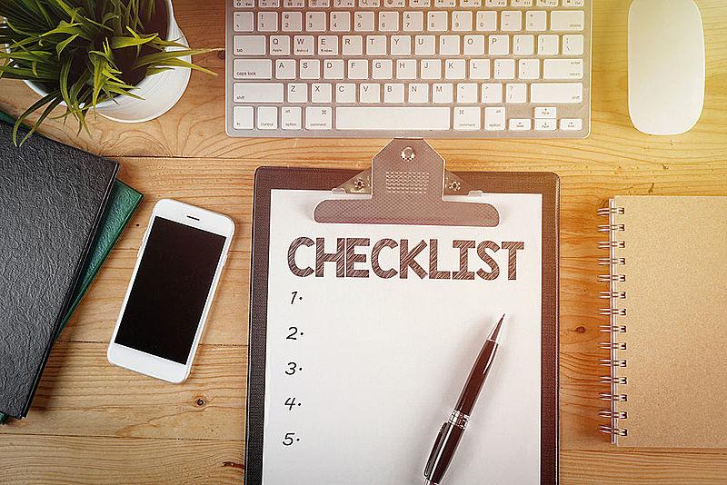 Prepare a checklist for Ramadan