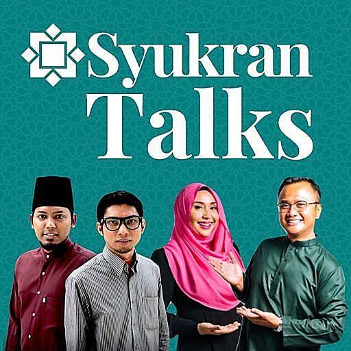 Syukran Talks podcast with Nona Kirana, Shahib Amin, Ustaz Ismail Hidayat and Hisham