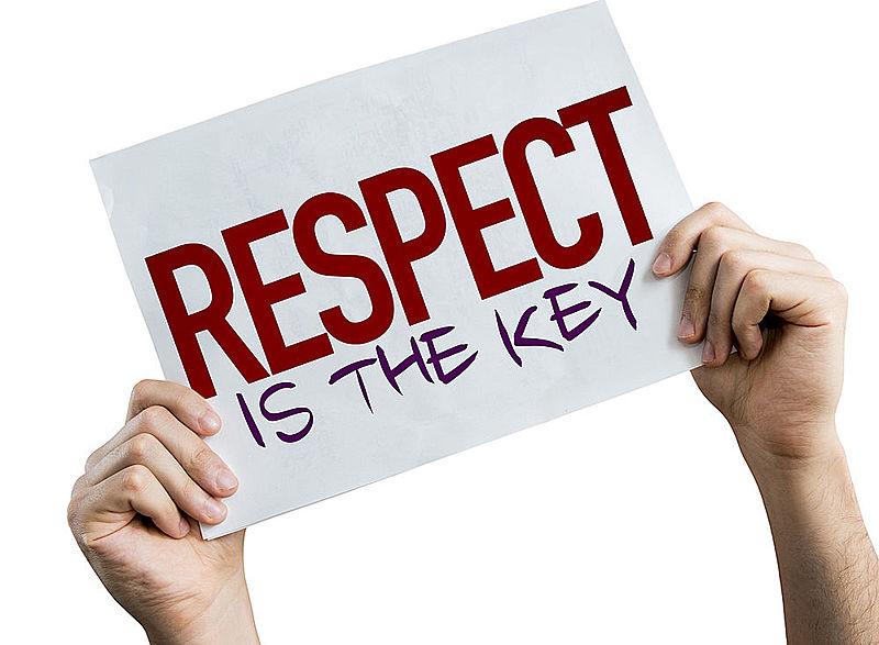 Teach son that gentleman respect women