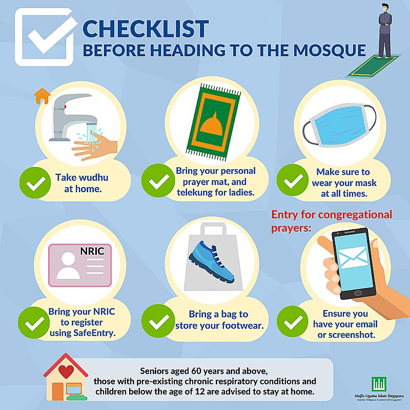 Enhanced Safe Management Measures at mosques
