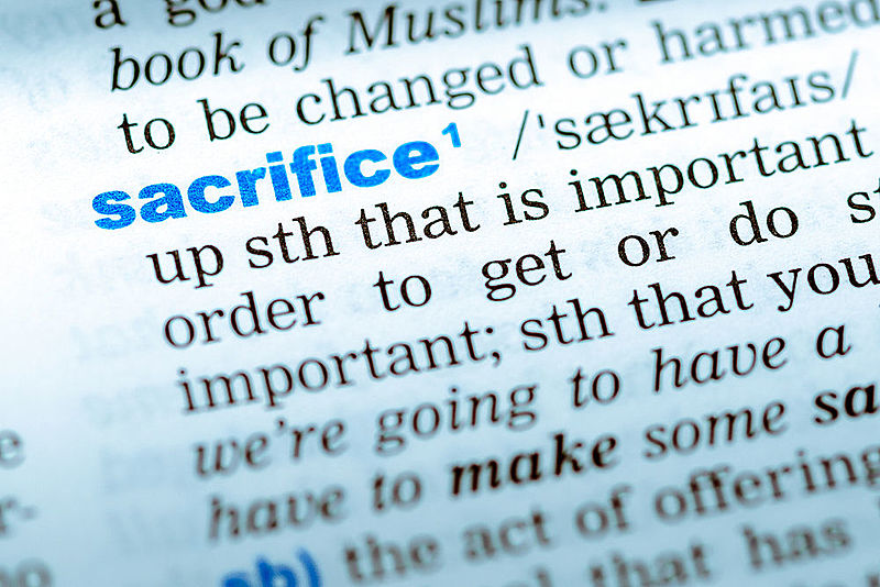 sacrifice in quran and Hadith