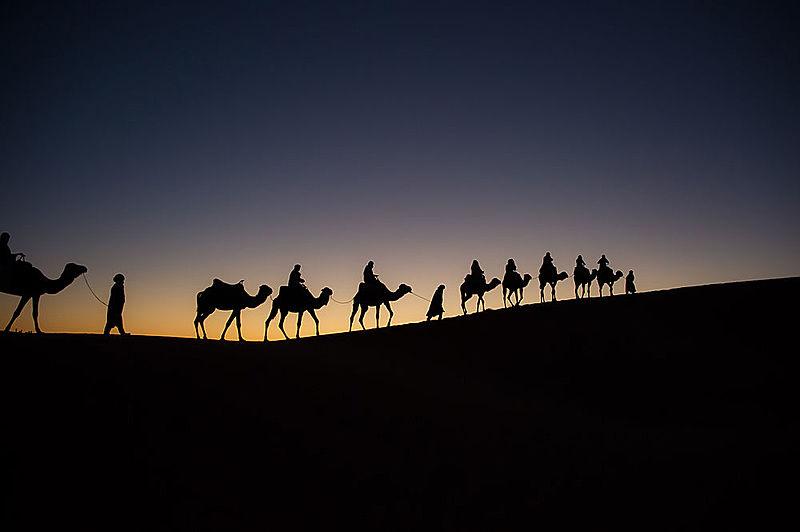 sacrifice in quran hijrah from Makkah to madinah