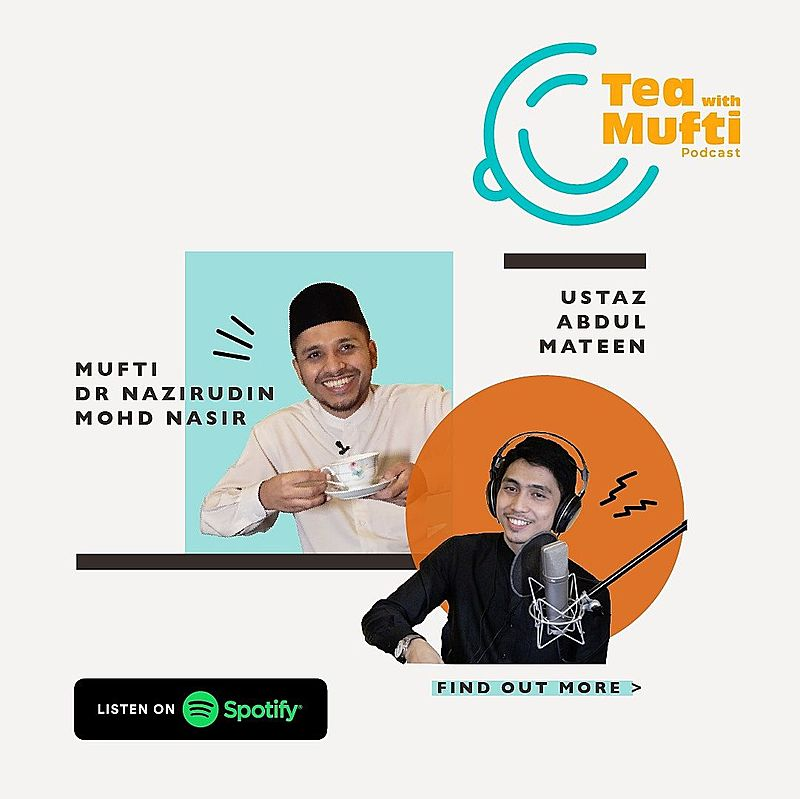 Islamic podcast mufti of singapore Nazirudin nasir