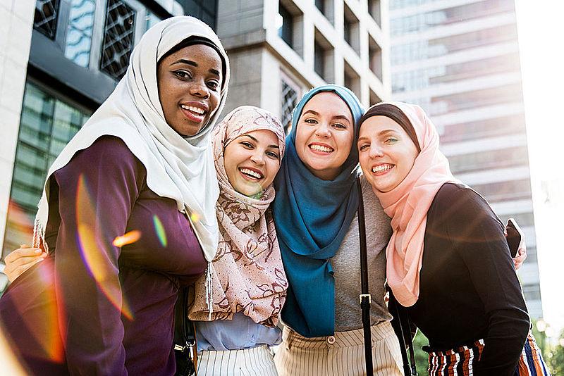 diversity in islam black white America