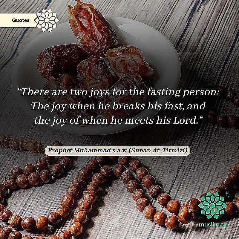 Nikmat orang berpuasa Ramadan
