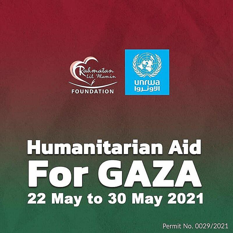 gaza donation singapore