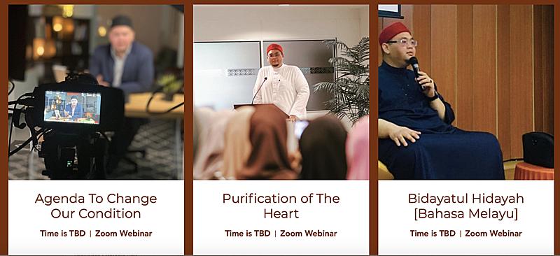 Free online Islamic class by Ustaz Fizar Zainal