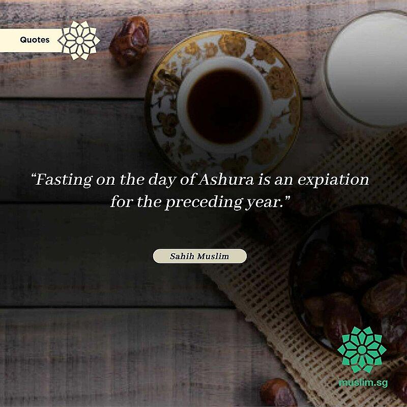 fasting ashura hadith