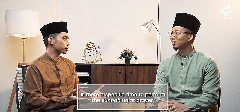best time to solat hajat